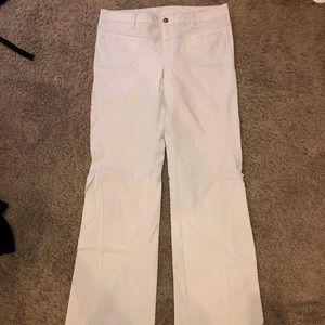 Athleta 12 Long khaki pants